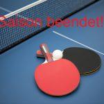 Saison im Tischtennis beendet!